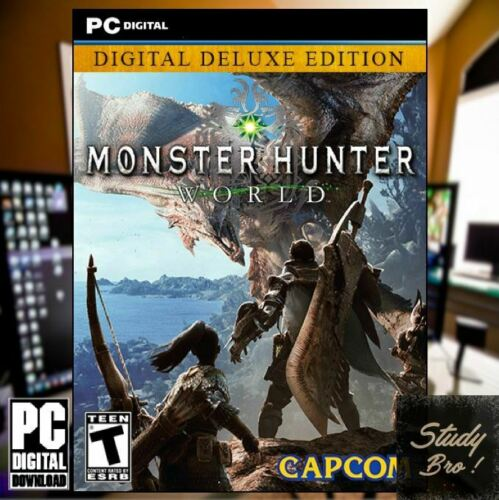 MONSTER HUNTER WORLD - PC OFFLINE Game [Digital Downloa