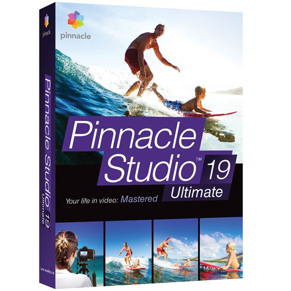Pinnacle Studio 19 Ultimate - Digital Download Software