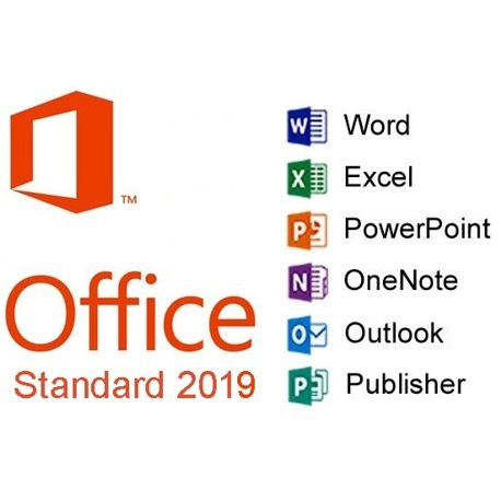 MS Office 2019 Standard Lifetime License Key for 1 PC