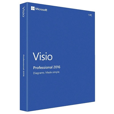 MS Visio Professional 2016 License Key and Download Lin