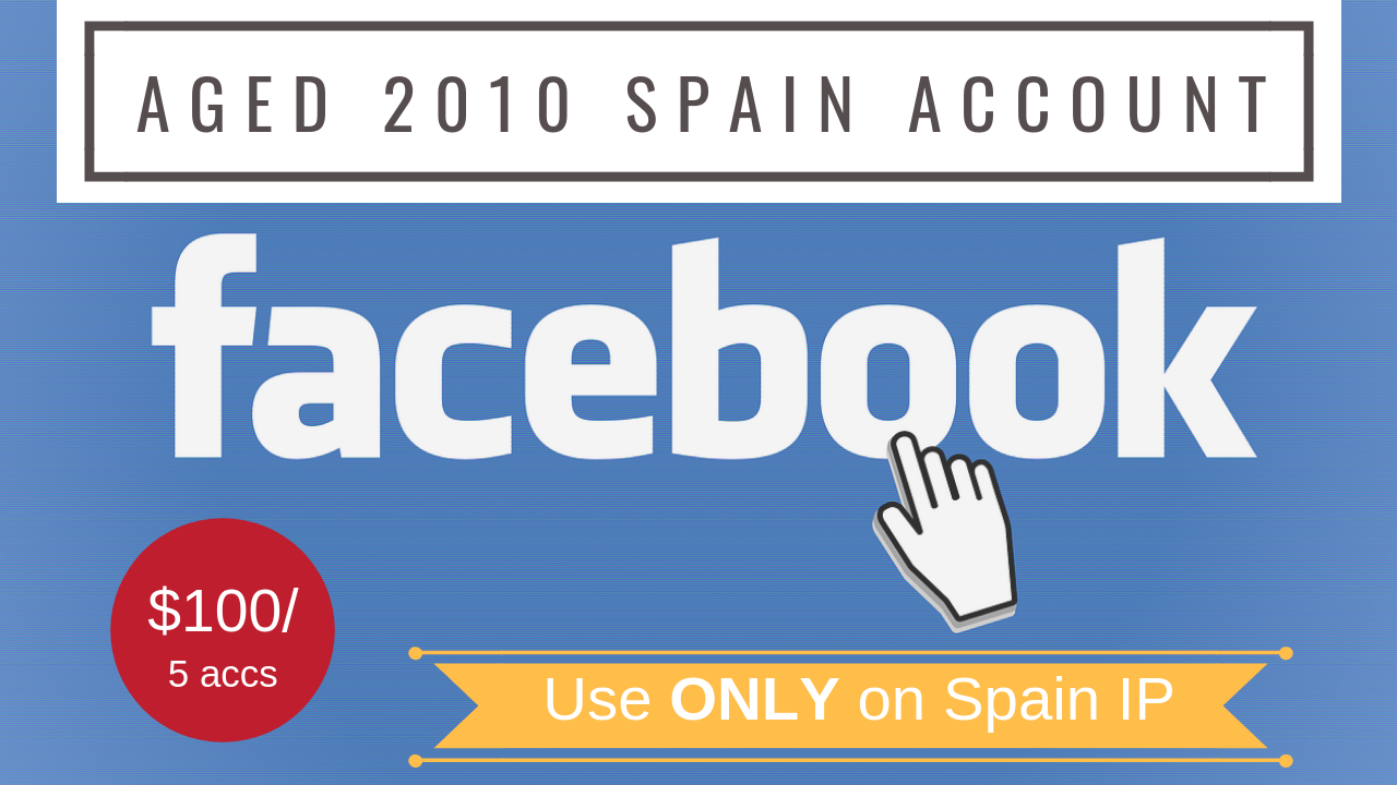 5 Facebook 2010 HQ Spain Account