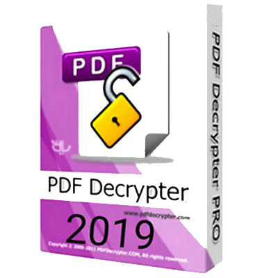 PDF DECRYPTER PRO 2019 - ORIGINAL LIFETIME LICENSE FOR