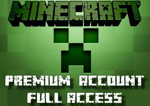 Minecraft Java Edition FULL ACCESS Premium Account