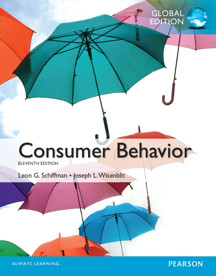 Consumer Behavior 11th Edition Global