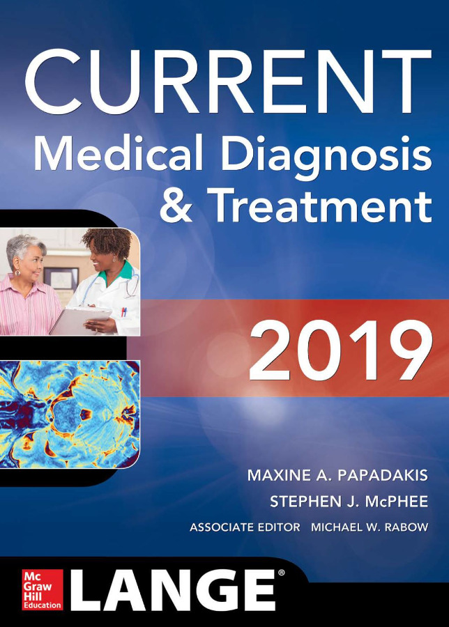 Current Medical Diagnosis & Treatment 2019