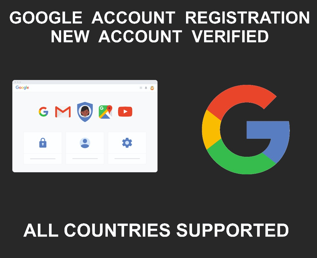 Google Account Ready to Use, Verified, All Services Act