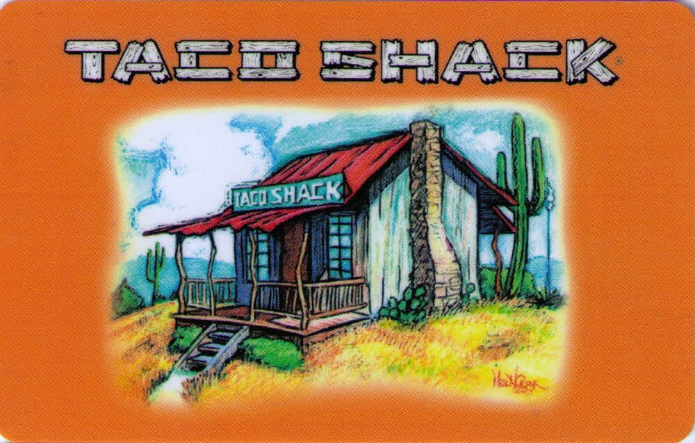 Taco Shack $20 w/pin INSTANT DELIVERY