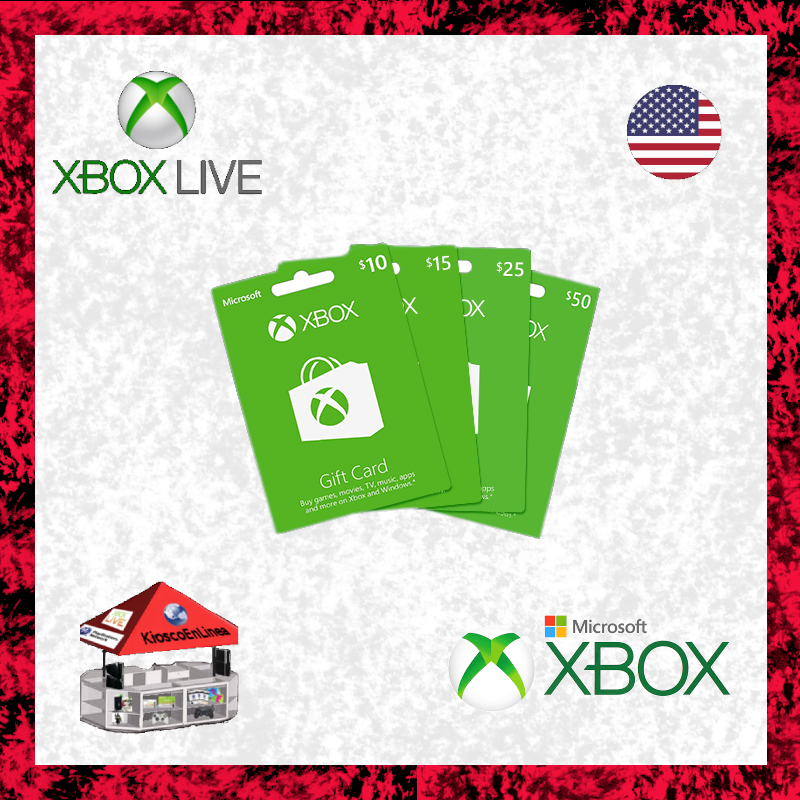 Xbox Gift Card $25