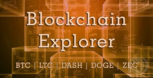 Blockchain Explorer v1.2.0 - Blockchain Explorer