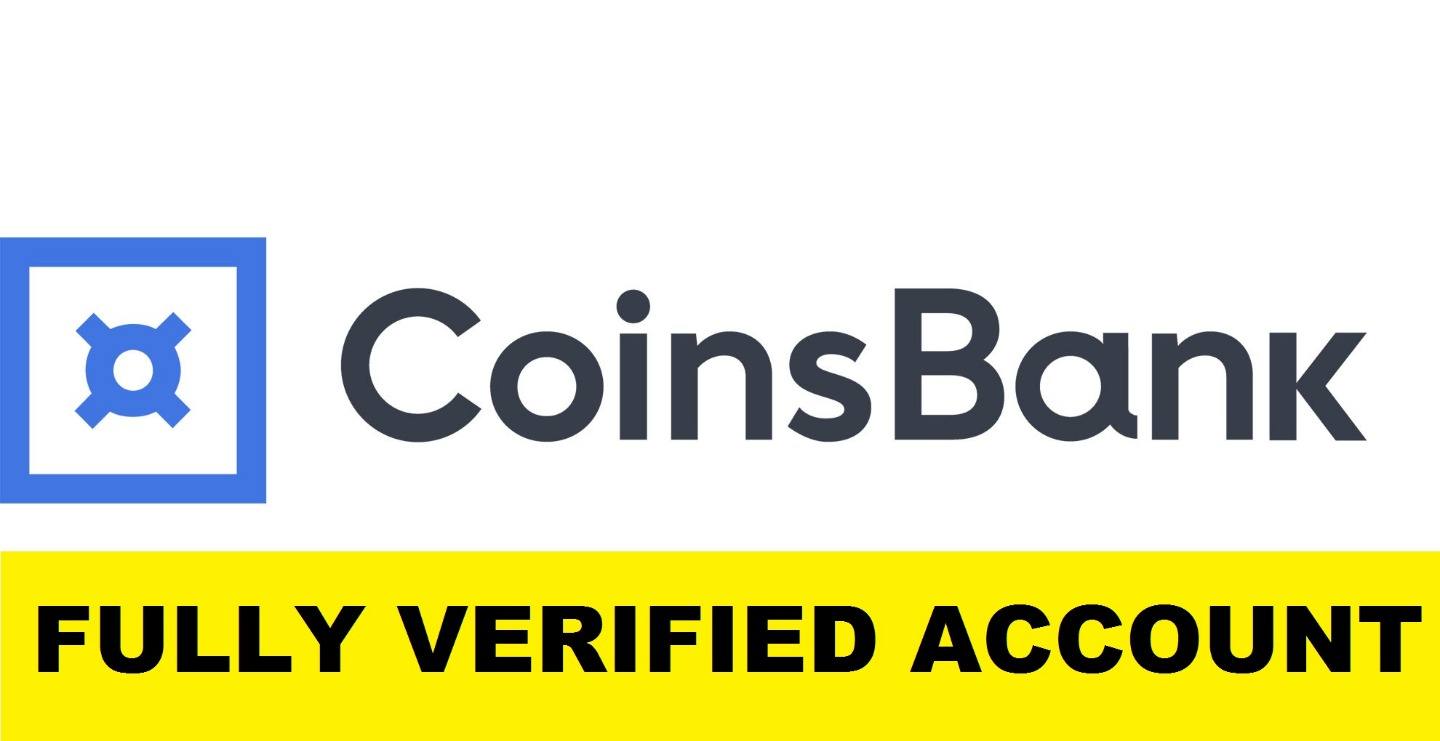 Fully Verified CoinsBank Account (RU) - $45