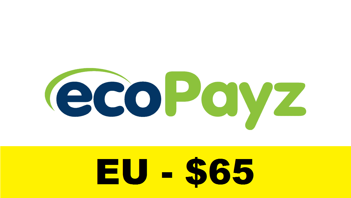 Fully Verified Ecopayz Account – EU $65