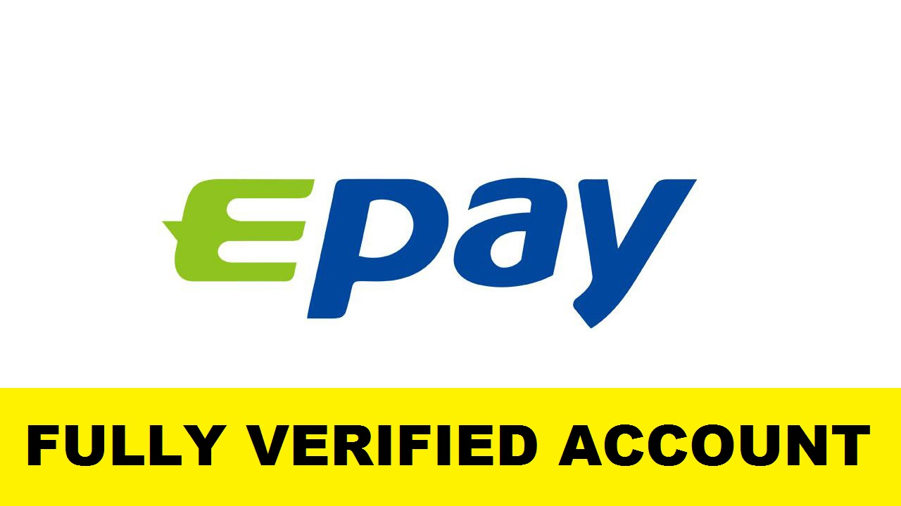 Fully Verified Epay.Com Account – Ru $35