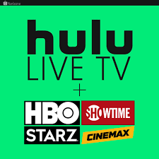 Hulu | No Commercials,Showtime,Live TV,HBO,Cinemax,Star