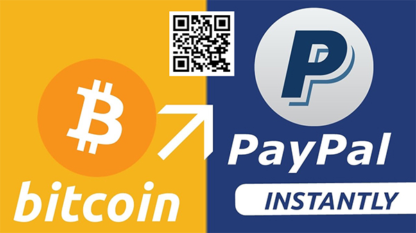 Bitcoin to PayPal – Pay $60 get 70$ in PayPal Balance