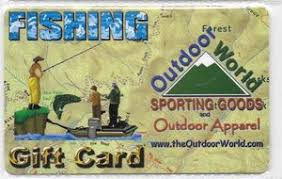 The Outdoor World - $200 Gift Card