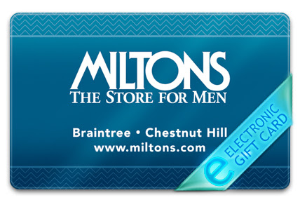 Miltons.com Store for Men 200$ Gift Card Instant