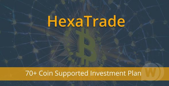 HeXaTrade v1.4 - cryptocurrency investment platf