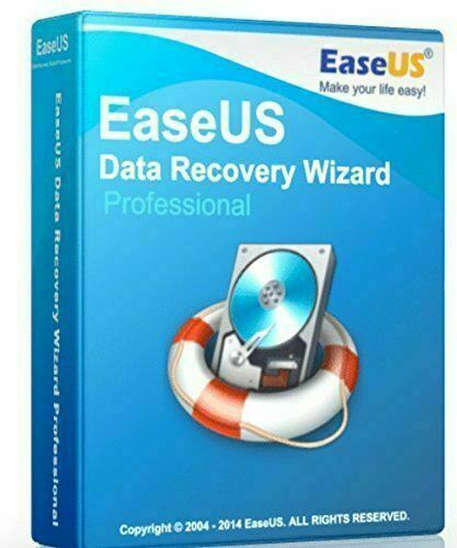 EaseUS Data Recovery Wizard v11.8 - Full Version Licens