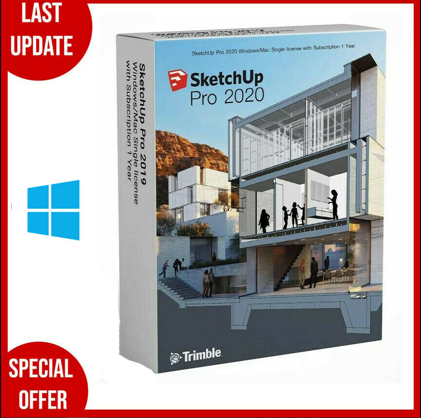 SketchUp Pro 2020 for Windows✔️Full Version✔�...