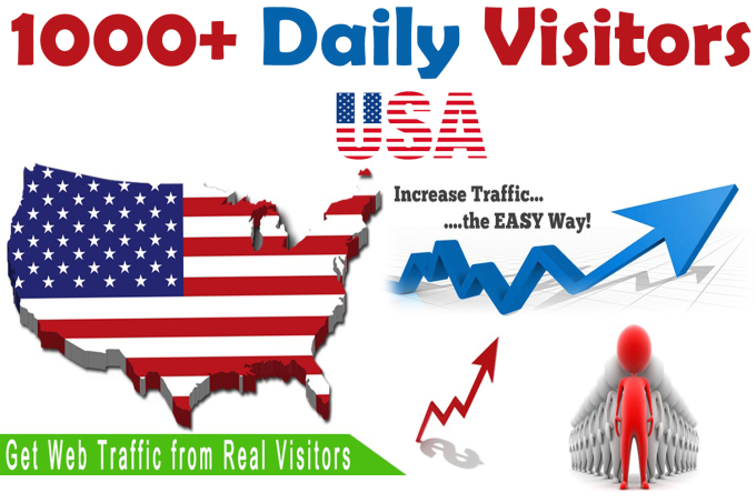 7000+ verified USA website Traffic Visitors for 7 Days