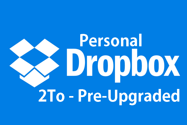 Dropbox Cloud Storage 2000 GB PreUpgraded account - PER