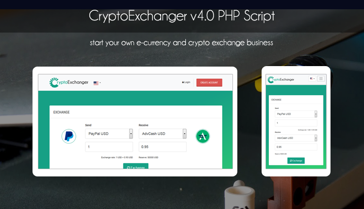 Crypto Exchanger - A Powerful eCurrency Exchanger