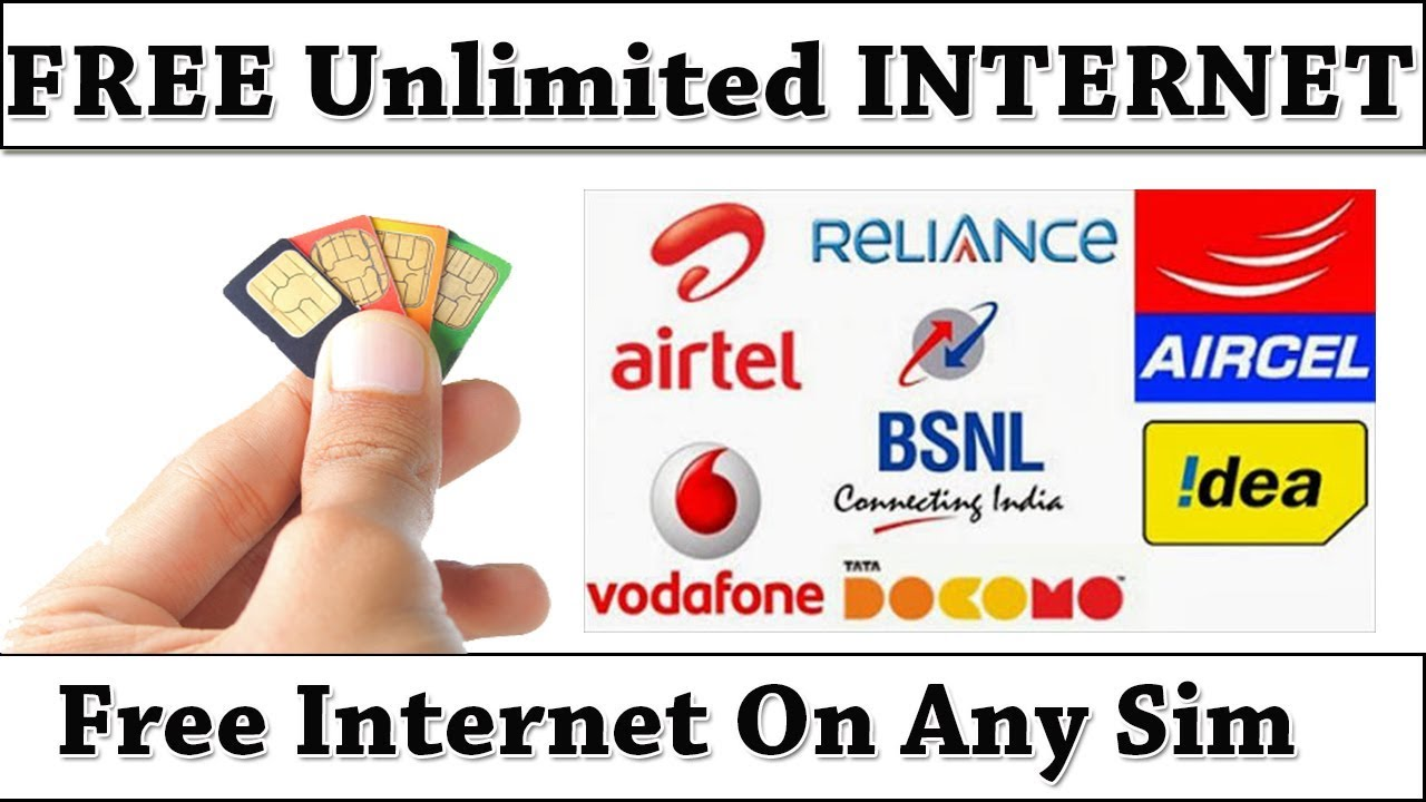 UNLIMITED FREE INTERNET 4G DATA MOBILE SIM WORLDWIDE