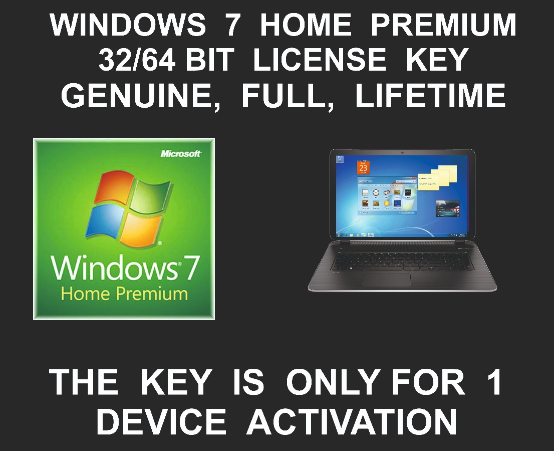 Windows 7 Home Premium License key and Download Link