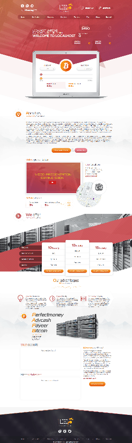 GoldCoders Hyip Template 03