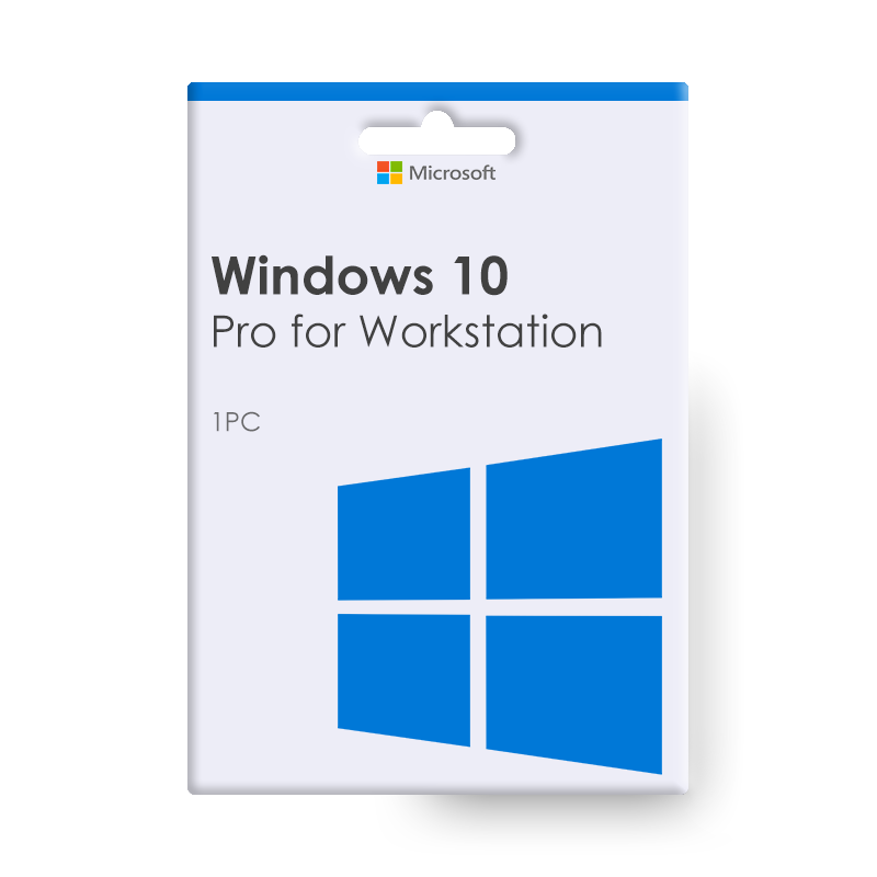 Microsoft Windows 10 Pro for Workstation 1 PC