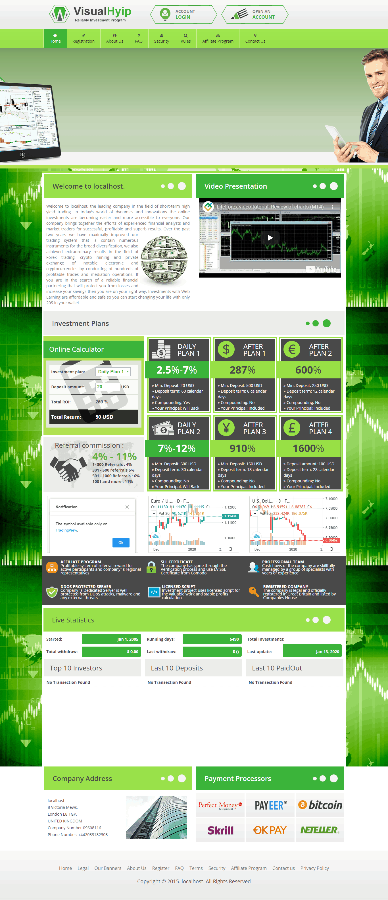 GoldCoders Hyip Template 10