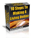 The 10 Steps to Make a Living Online