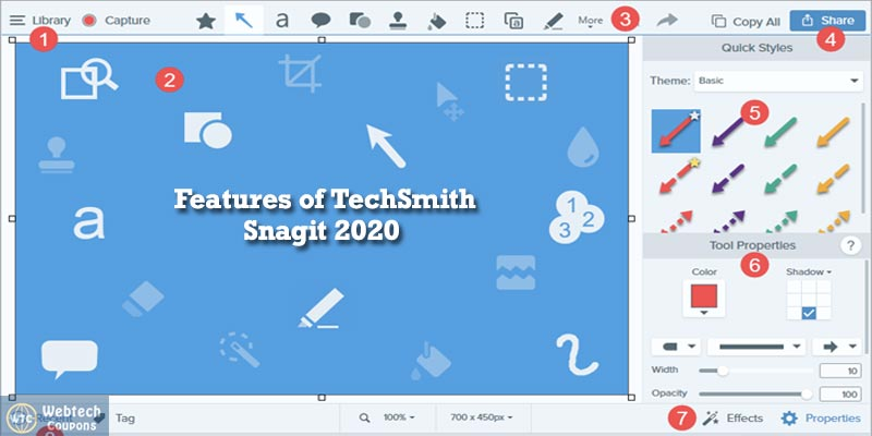TechSmith Snagit 2020 Screen Capture Lifetime License K