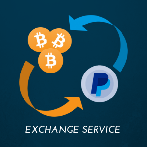 PayPal to Bitcoin/BTC Exchange Service (20% comm fee)