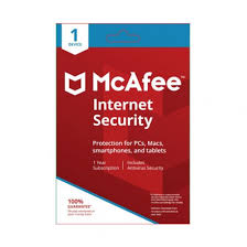 McAfee Internet Security 1-PC 1 year