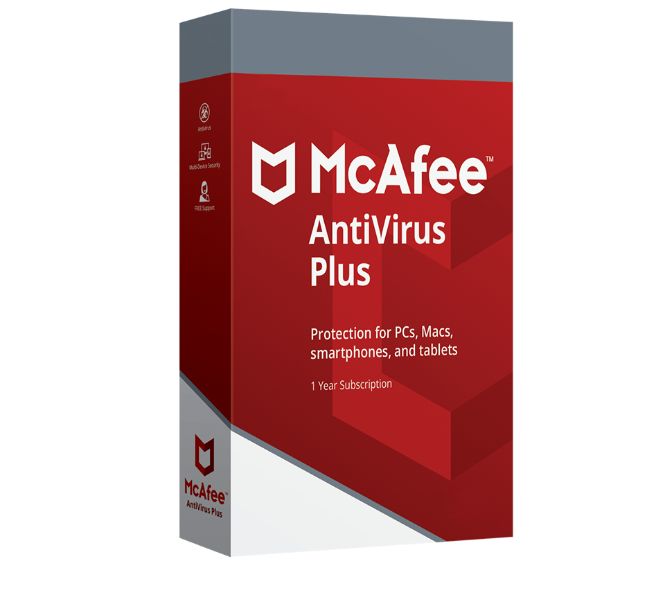 McAfee AntiVirus Plus Unlimited Devices 1 year