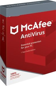 McAfee AntiVirus Plus 5-PC 1 year
