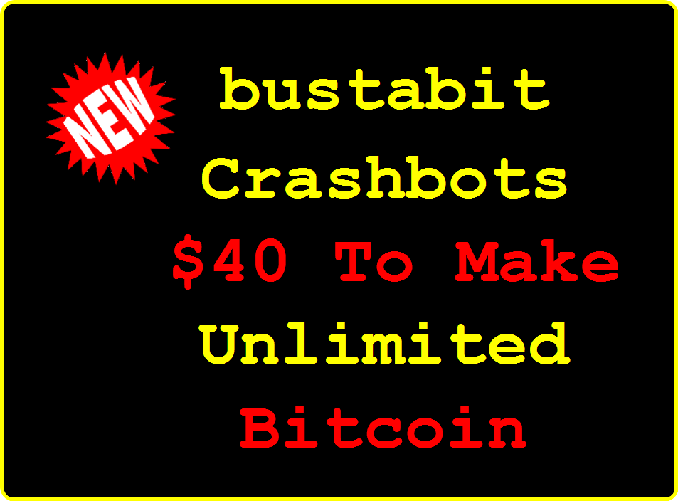 Bustabit Crashbots Betting System
