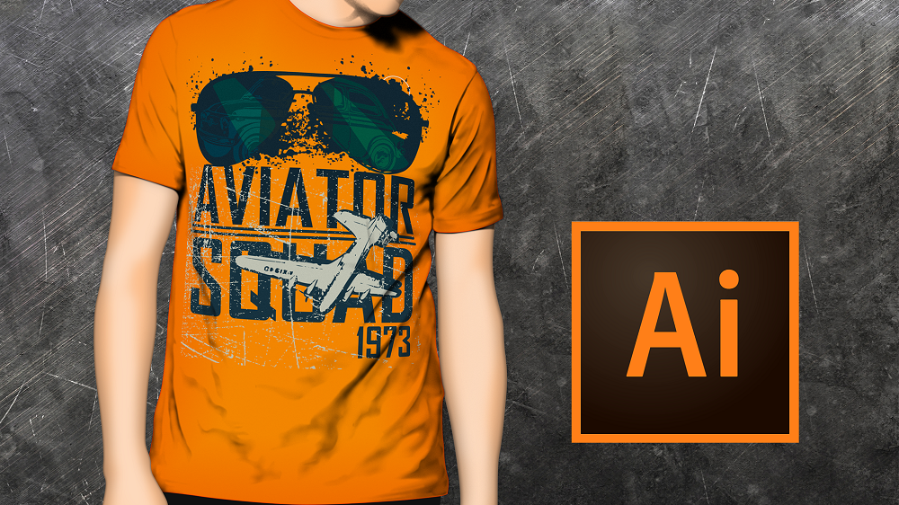 Bestselling T-shirt Design Mastery with Illustrator