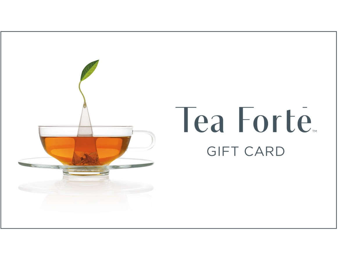 $100 The Tea Forté Gift Card