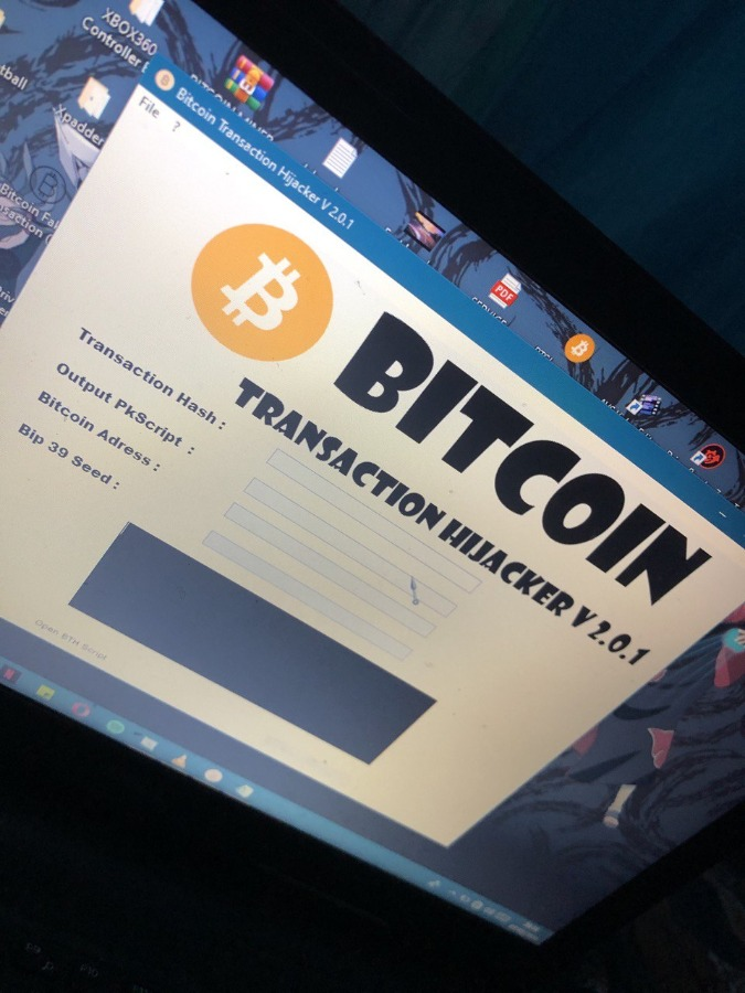 Bitcoin Transaction Hijacker V 2.0.1 software 2020
