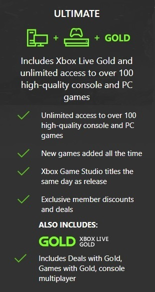 Xbox 1 month Game Pass Ultimate Membership (NOT CODE)