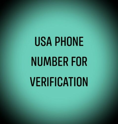 USA Phone Number For Verification