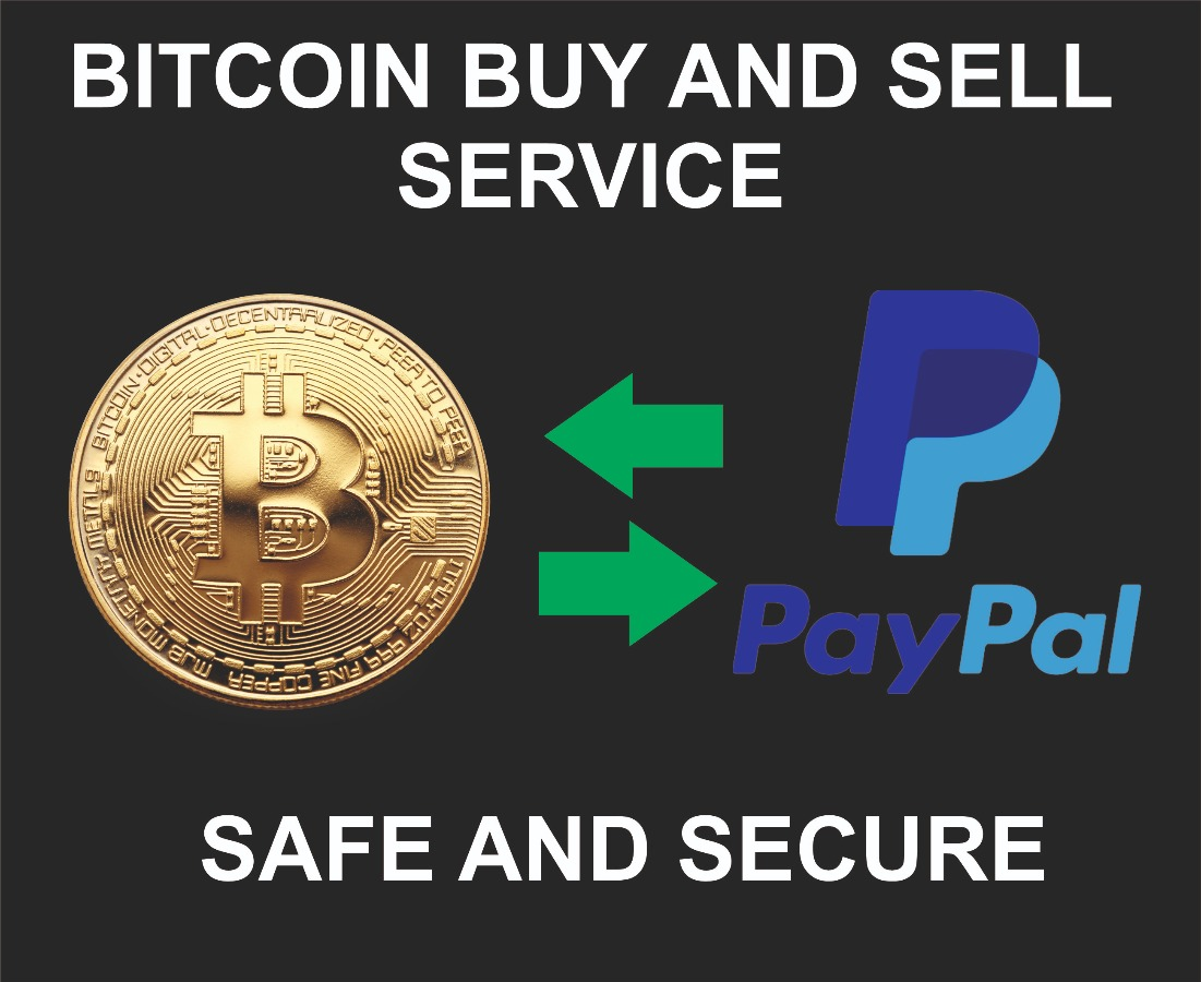 Exchange Bitcoin to Paypal and Vise Versa, We offer