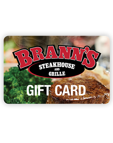 Brann's $100 INSTANT DELIVERY