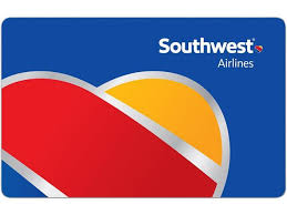 Egift Card Southwest Airlines $1000 instan delivery