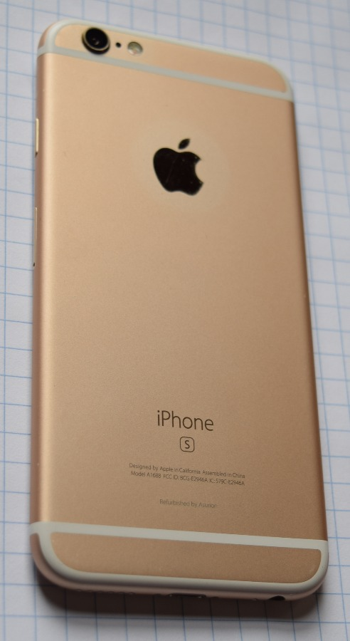 Apple iPhone 6S Gold 64GB A1688 - activation locked