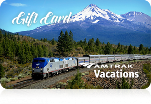 Amtrak $200 Gift Card (use online only) LASTS 1 YEAR