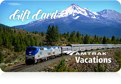 Amtrak $49 Gift Card (use online only) LASTS 1 YEAR