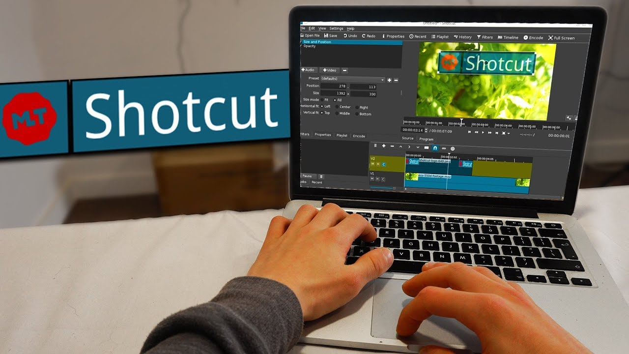 Shotcut 2019 (Professional Video Editor Software Suite)